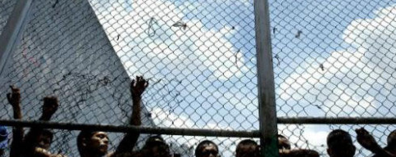 """Salieron 60 familiares """"autosecuestrados"""" de la Penitenciaría General de Venezuela"""