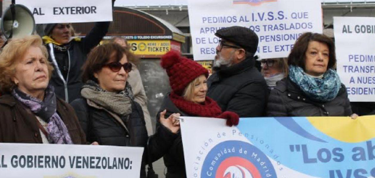El gobierno venezolano le adeuda a sus pensionados en España 31 mensualidades