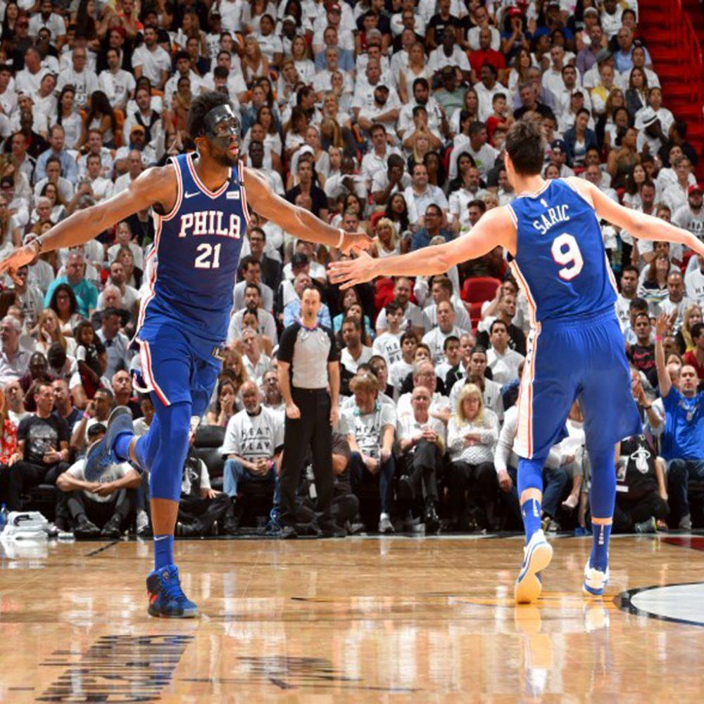 Philadelphia 76ers gana 128-108 al Heat y lidera 2-1 la serie de 'playoffs'