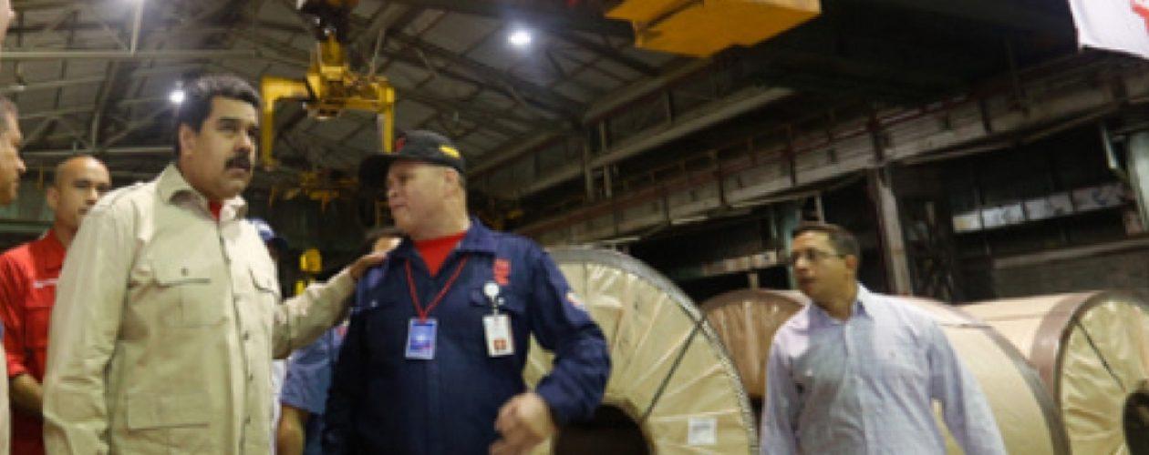 Producción de Sidor no está entre las prioridades de Maduro