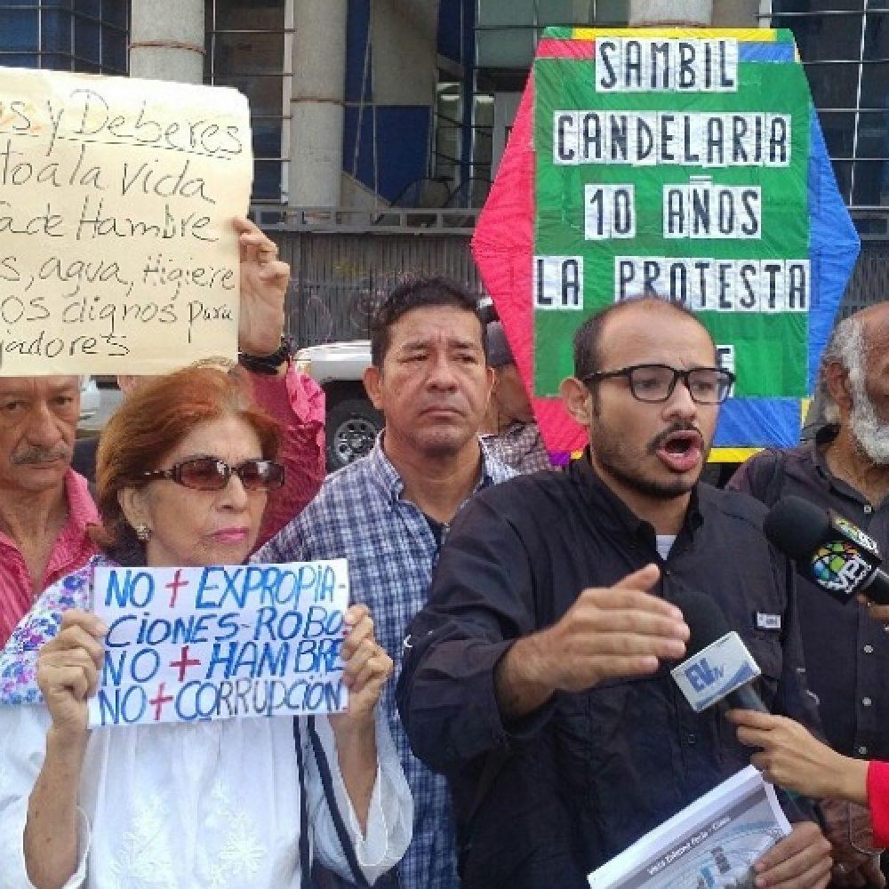 Caraqueños clamaron respeto por la propiedad privada a 10 años de la expropiación del Sambil Candelaria