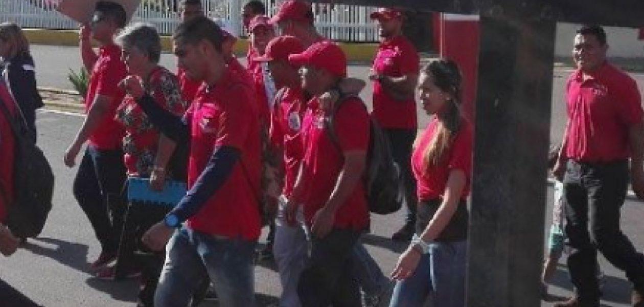 Protesta en Puerto de Maracaibo por despidos masivos