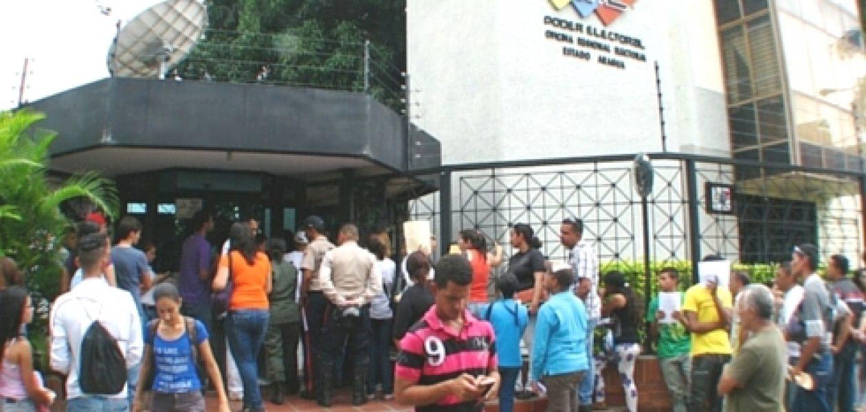 ¡Persecución! Psuv obligó a funcionarios públicos de Aragua a excluir firmas