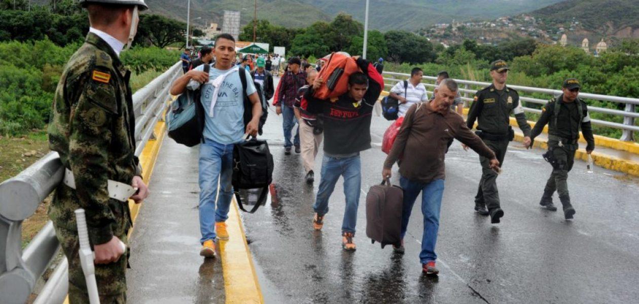 Colombia deportó a 50 venezolanos indocumentados