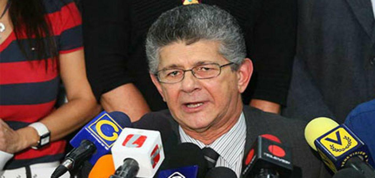 Ramos Allup lanzará su candidatura para las presidenciales 2018