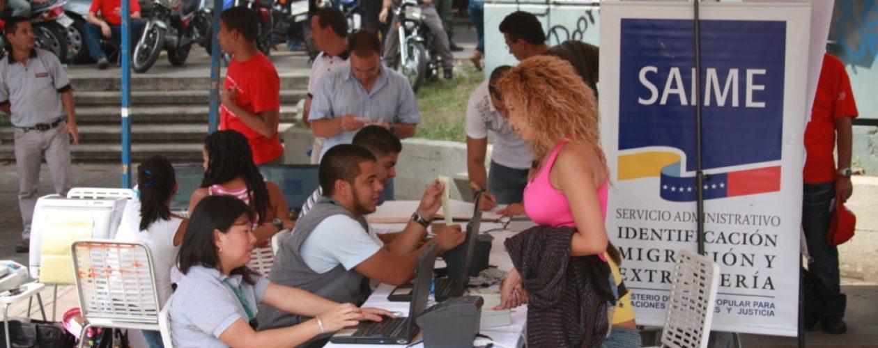 Tramitar la cédula en Venezuela puede tardar hasta 10 horas