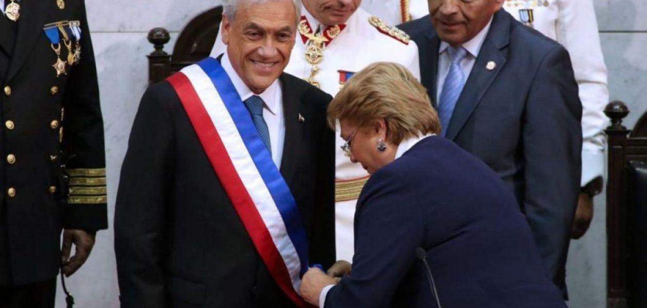 Sebastián Piñera fue investido presidente de Chile