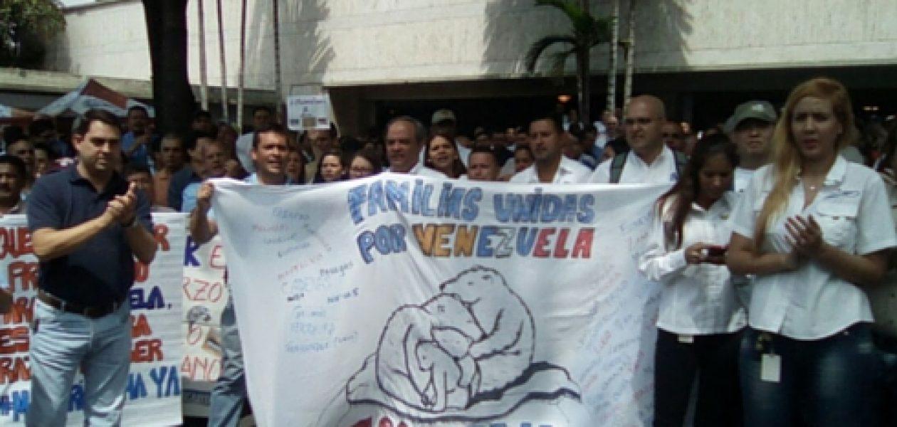 Sectores populares de Caracas dan apoyo a Empresas Polar