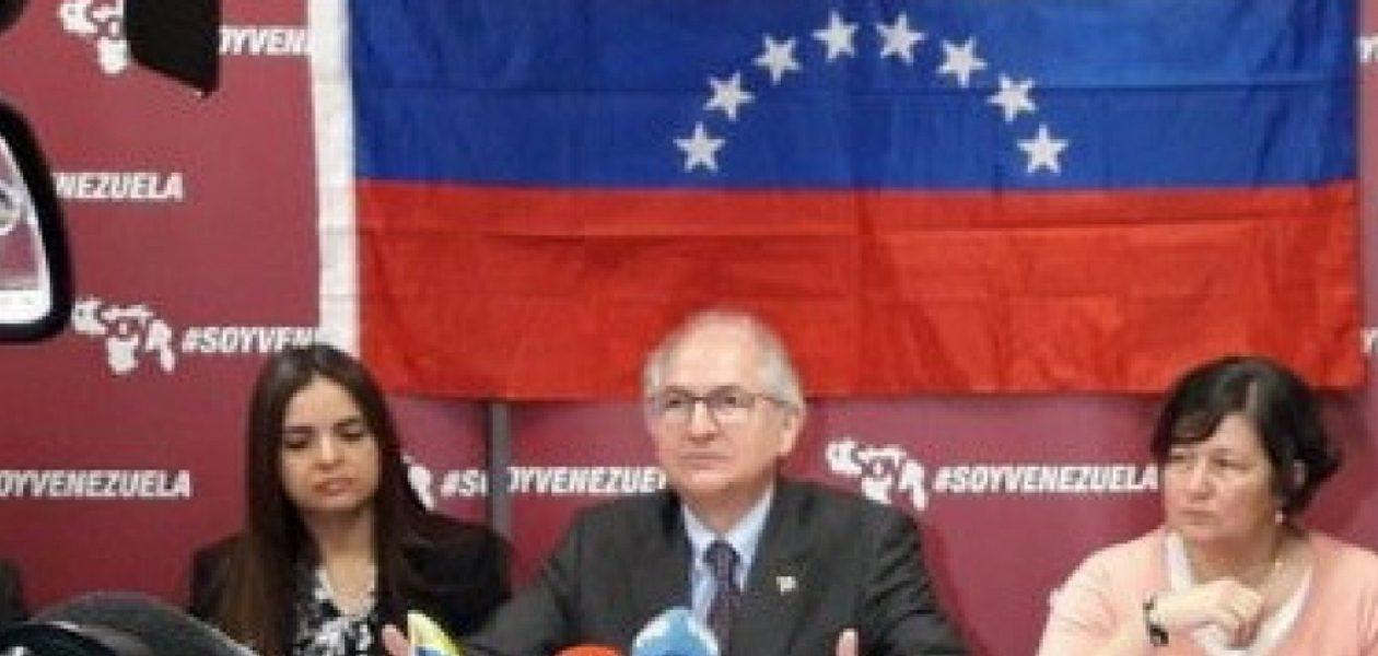 Antonio Ledezma presentó la agenda y las acciones del movimiento Soy Venezuela