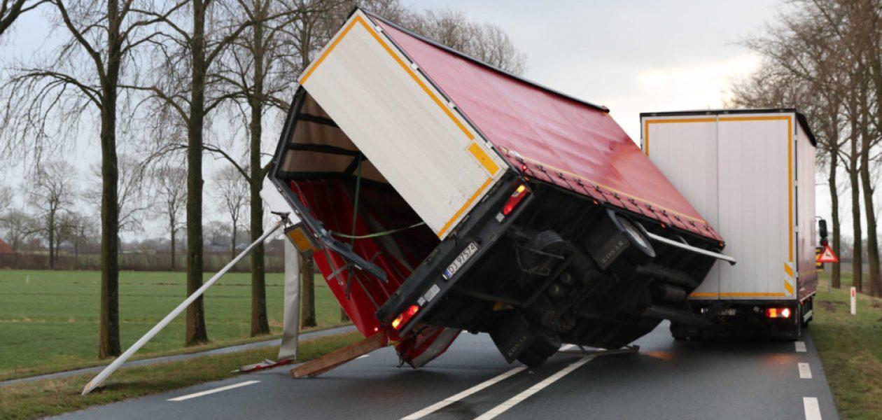 Fuerte temporal en Holanda suma dos muertos y genera caos de transporte (+Fotos)