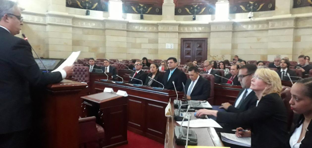 TSJ en el exilio inició audiencia de antejuicio en contra de Nicolás Maduro