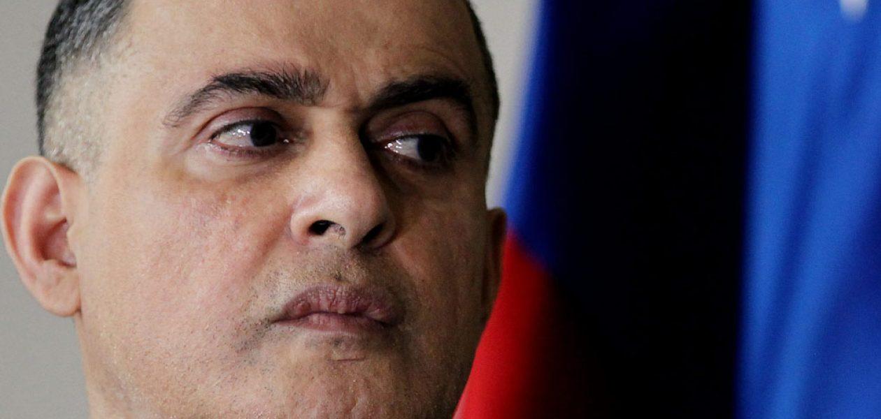 Tarek William Saab dice que sanciones de Suiza y Panamá son «noticias falsas»