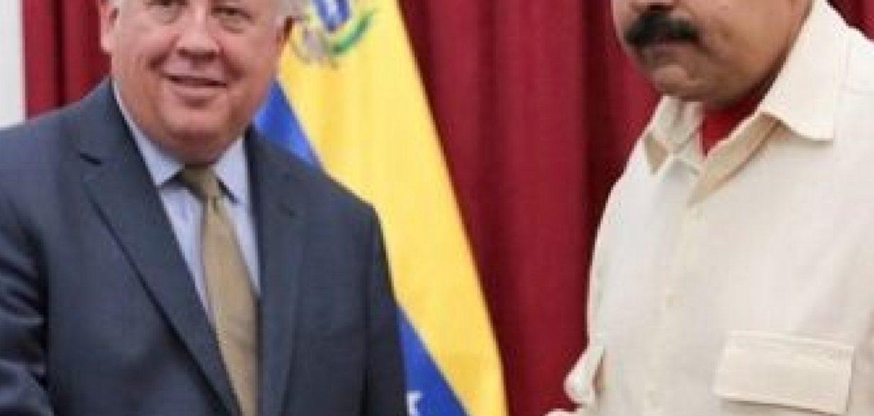 Thomas Shannon en Venezuela busca respaldar el diálogo entre Gobierno y oposición