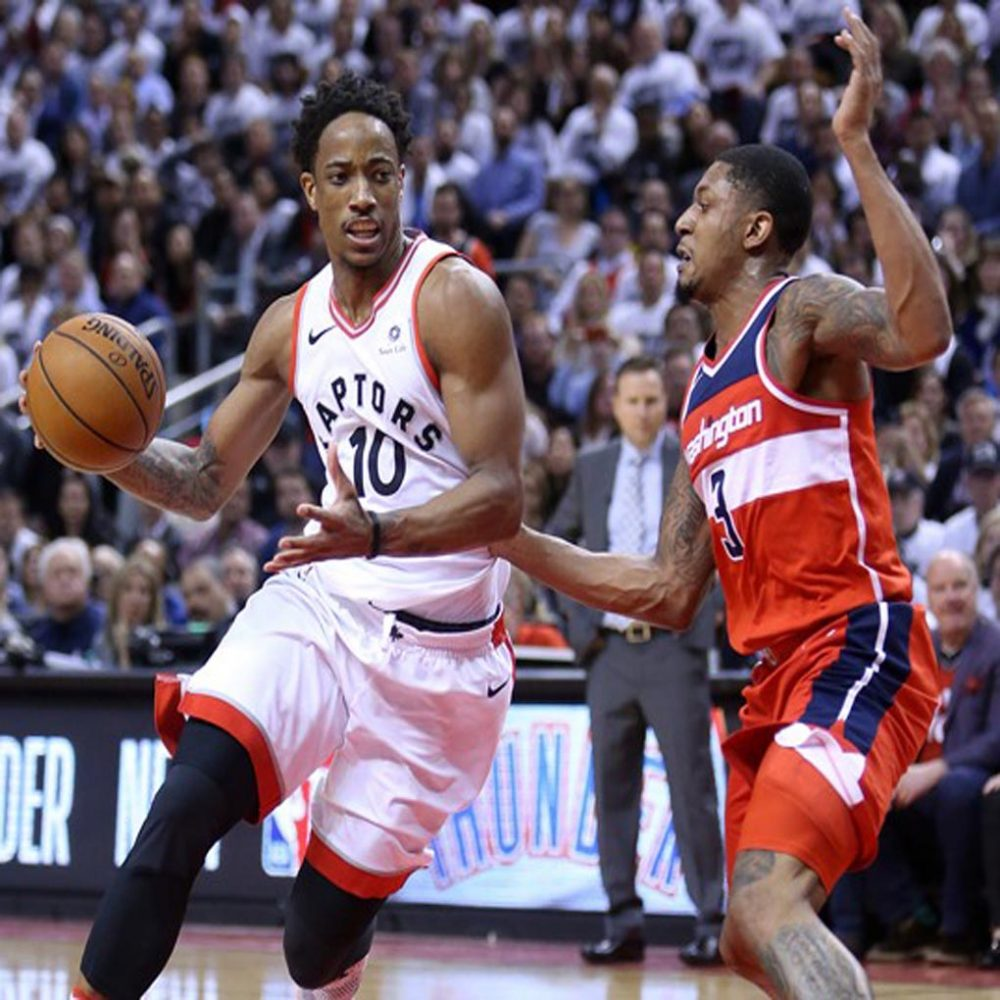 Toronto se puso adelante sobre Washington al derrotarle 108 por 98