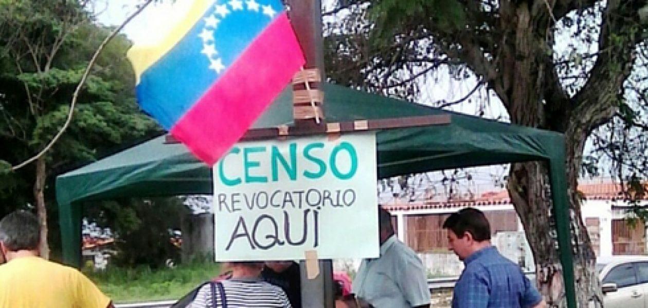Mantendrán plan de movilización para validación de firmas en Bolívar