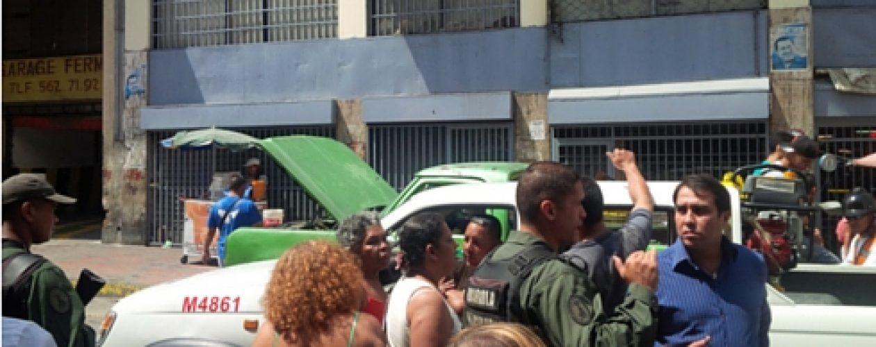 Vecinos de La Candelaria protestan por tener más de 72 horas sin luz