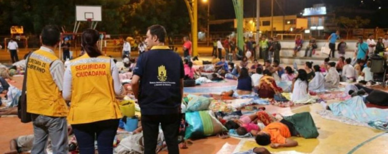 Banda de antisociales controlan la cancha donde se refugian venezolanos en Cúcuta