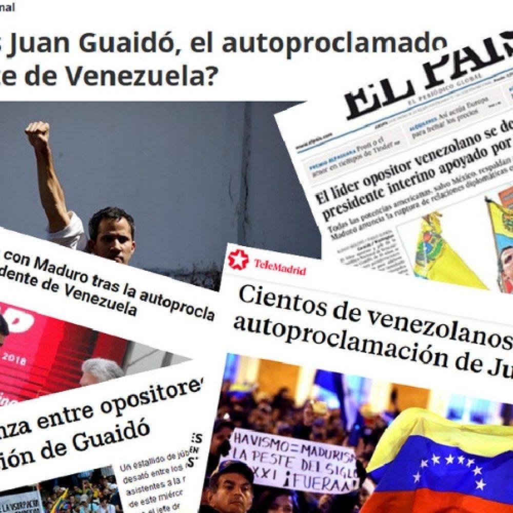 Venezuelan Press pide a agencias y medios rigurosidad en la información sobre Venezuela