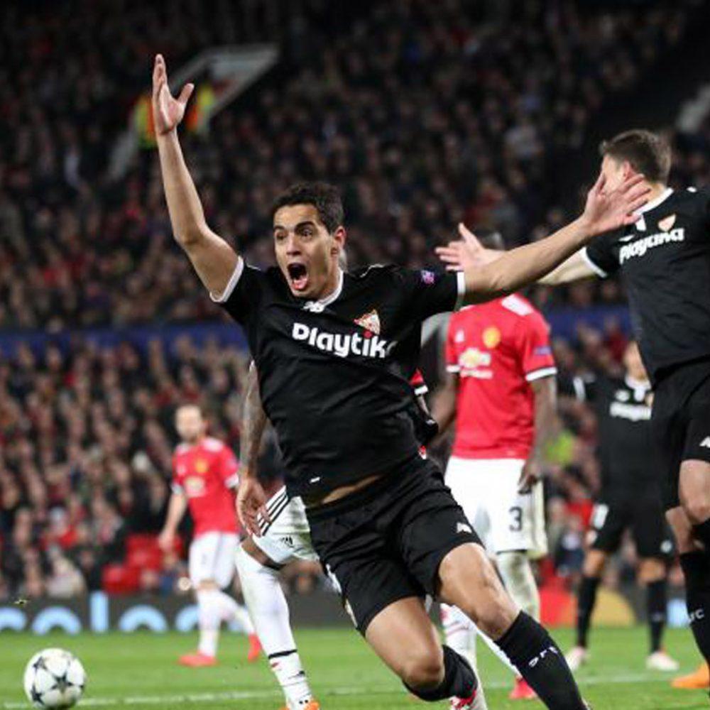 Wissam Ben Yedder mete al Sevilla en cuartos de 'Champions'