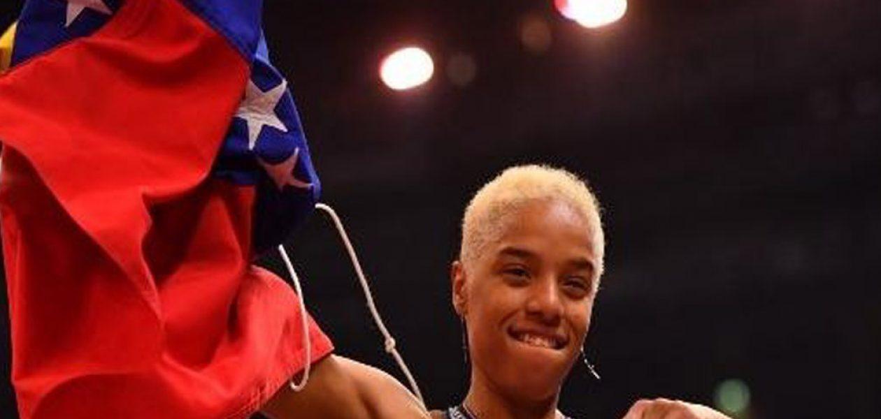 Yulimar Rojas medalla de oro en triple salto