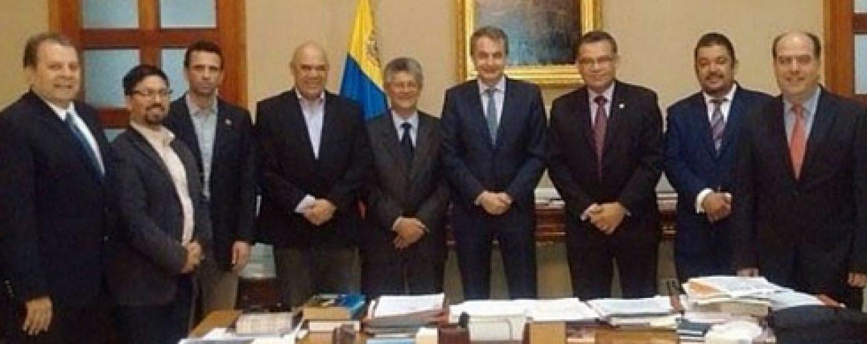Zapatero: «El diálogo en Venezuela es un camino largo y difícil»
