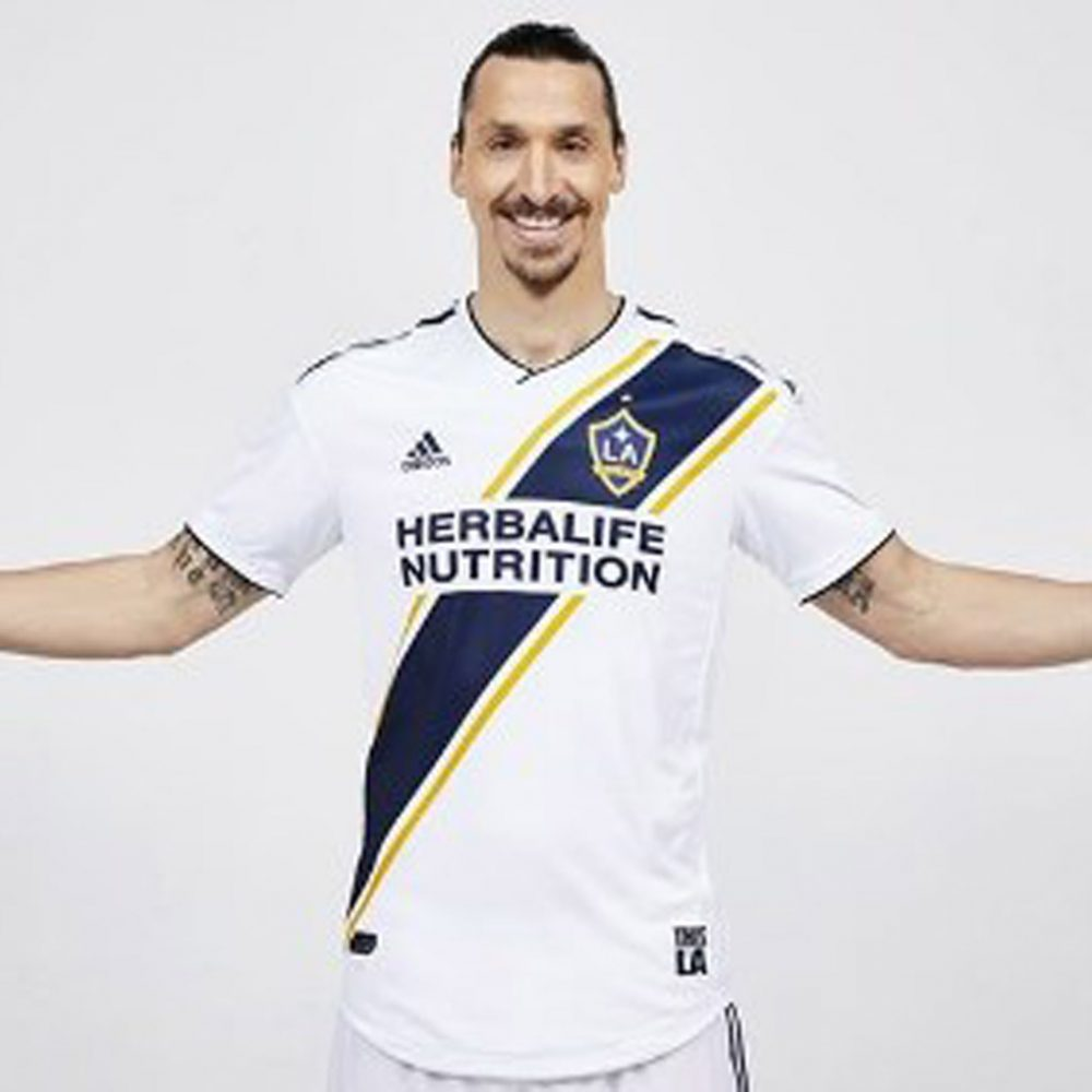 Zlatan Ibrahimovic está listo para debutar en la Major League Soccer
