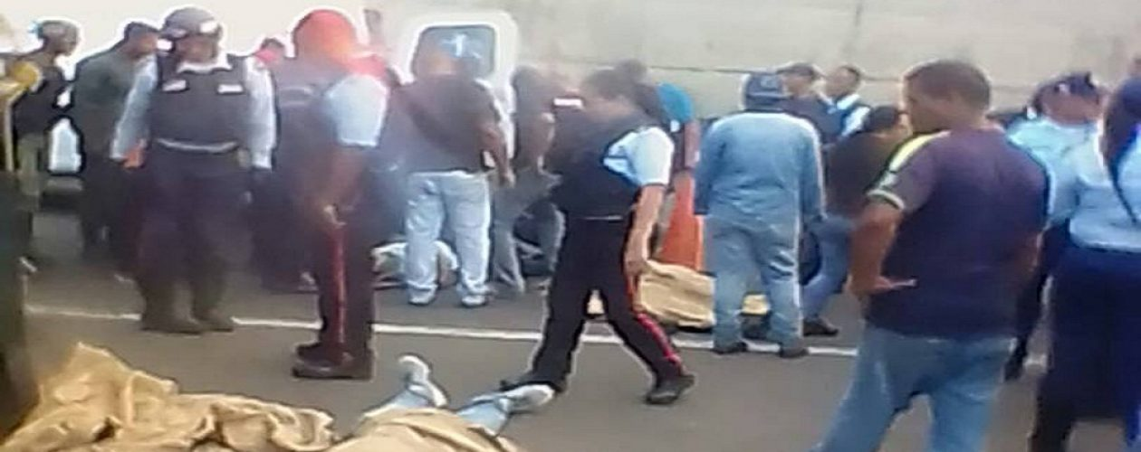 Accidente en Macagua deja cuatro personas fallecidas