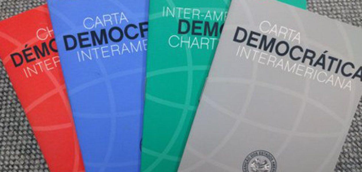 Almagro anuncia solicitud de activación de la Carta Democrática Interamericana sobre Venezuela