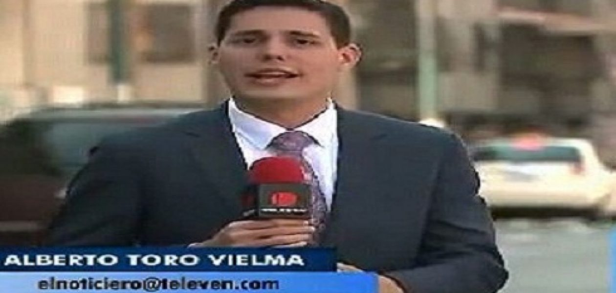 Periodista de Televen resultó herido por impacto de bomba lacrimógena