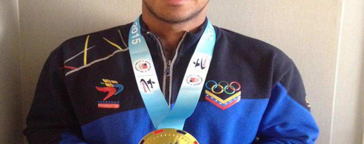 Venezolano Andrés Madera lidera ranking mundial de karate