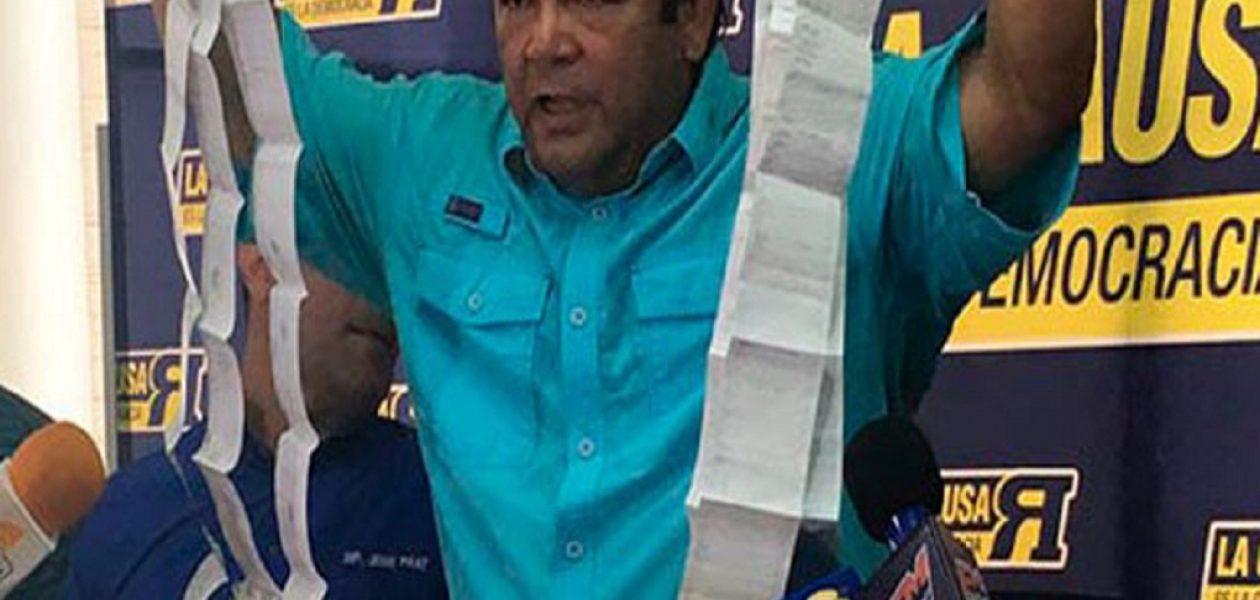 Andrés Velásquez: El CNE está obligado a responderle al pueblo de Bolívar