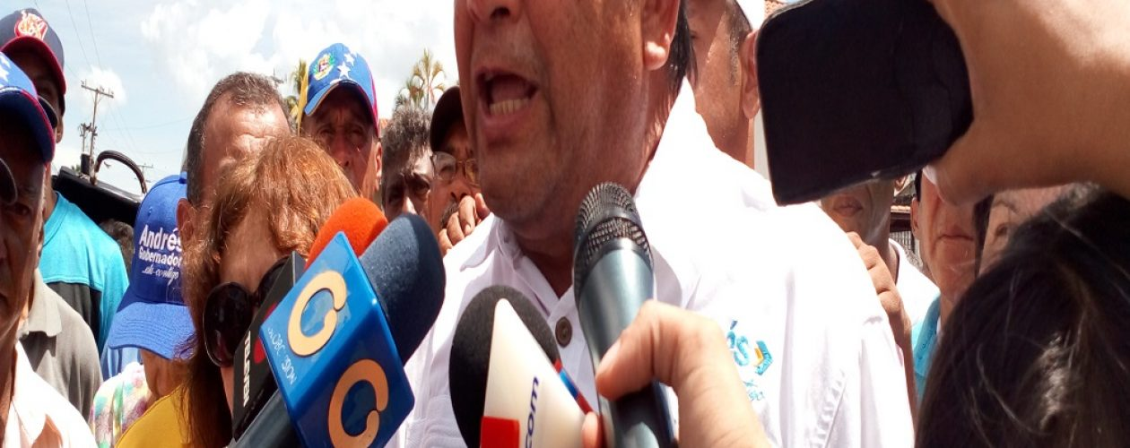 Andrés Velásquez: Inmoral que autores del fraude contra Bolívar continúen en cargos