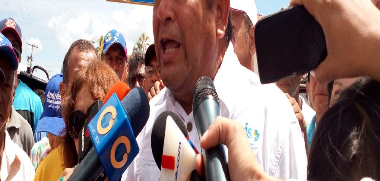 Andrés Velásquez impugnará resultados electorales en Bolívar