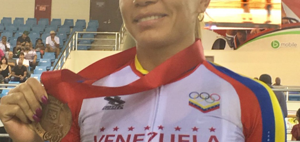 Venezolana Angie González gana medalla de bronce en Panamericano de Ciclismo