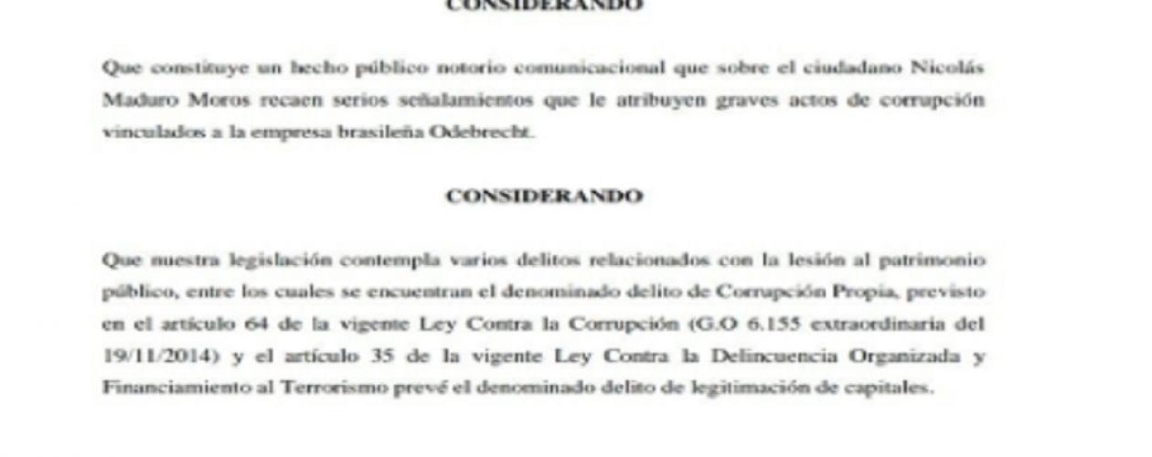 Aprobado con 105 votos el antejuicio a mérito contra Maduro