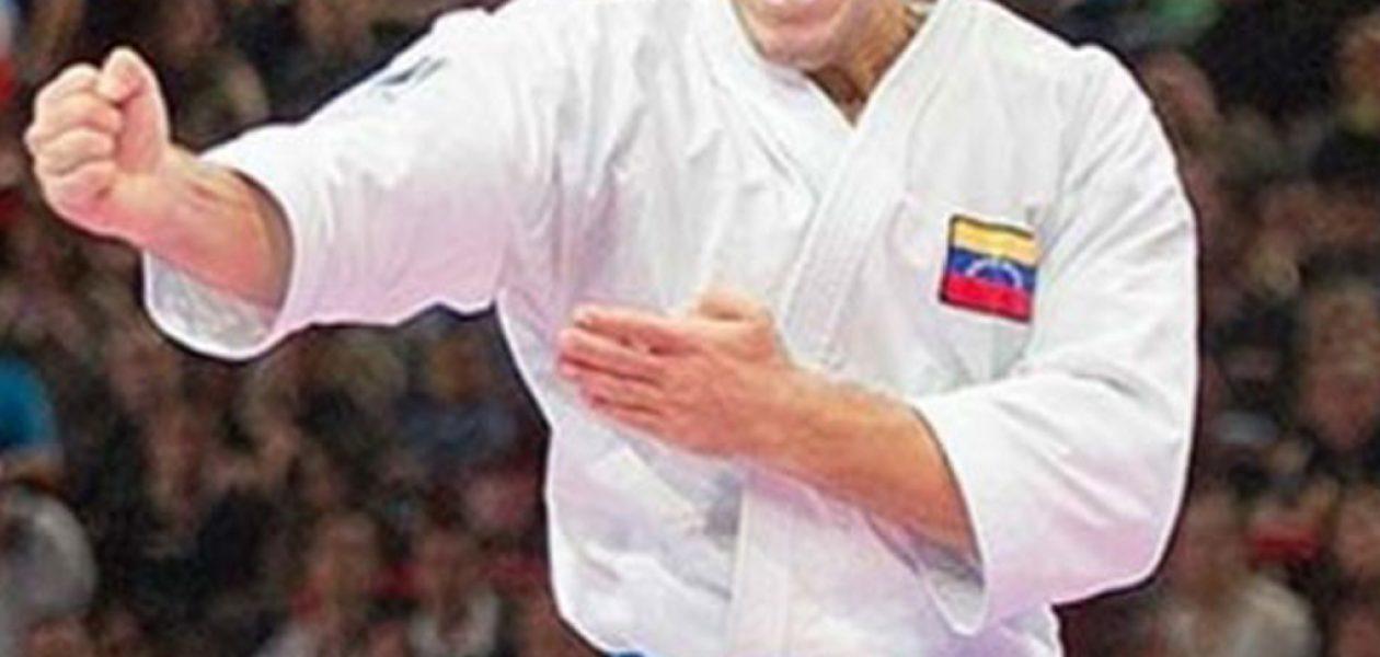 Karateca Antonio Díaz confirma participación en Juegos Bolivarianos