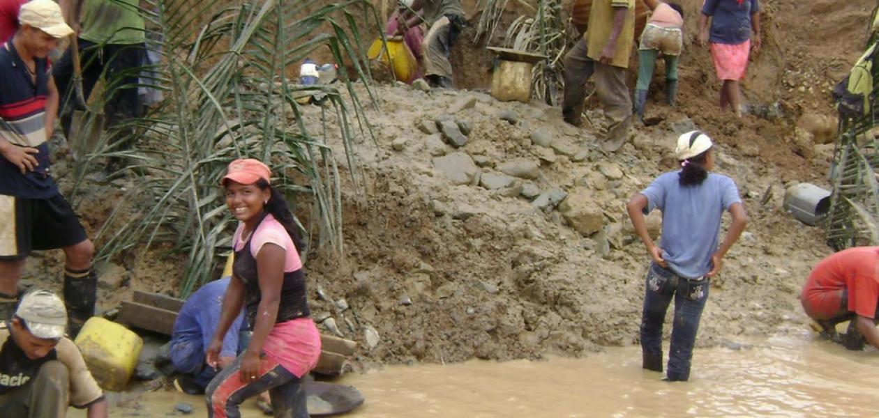 La minería ilegal y el empeño en el Arco Minero del Orinoco
