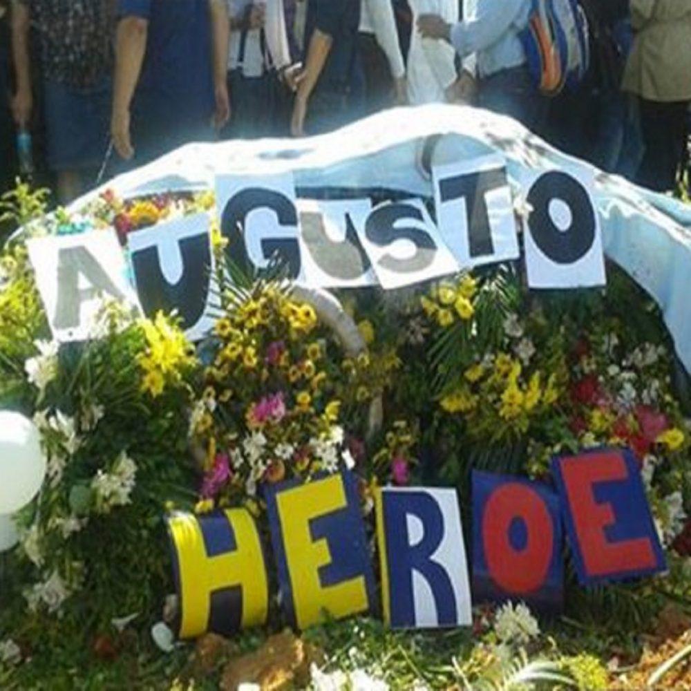 A un año del asesinato de Augusto Puga