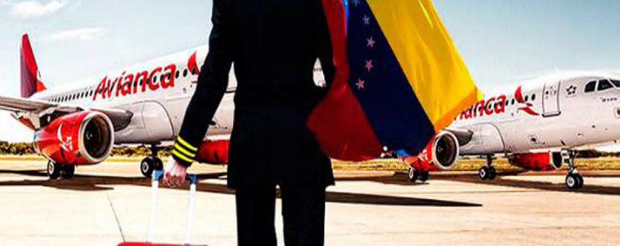 Avianca suspende vuelos hacia Venezuela