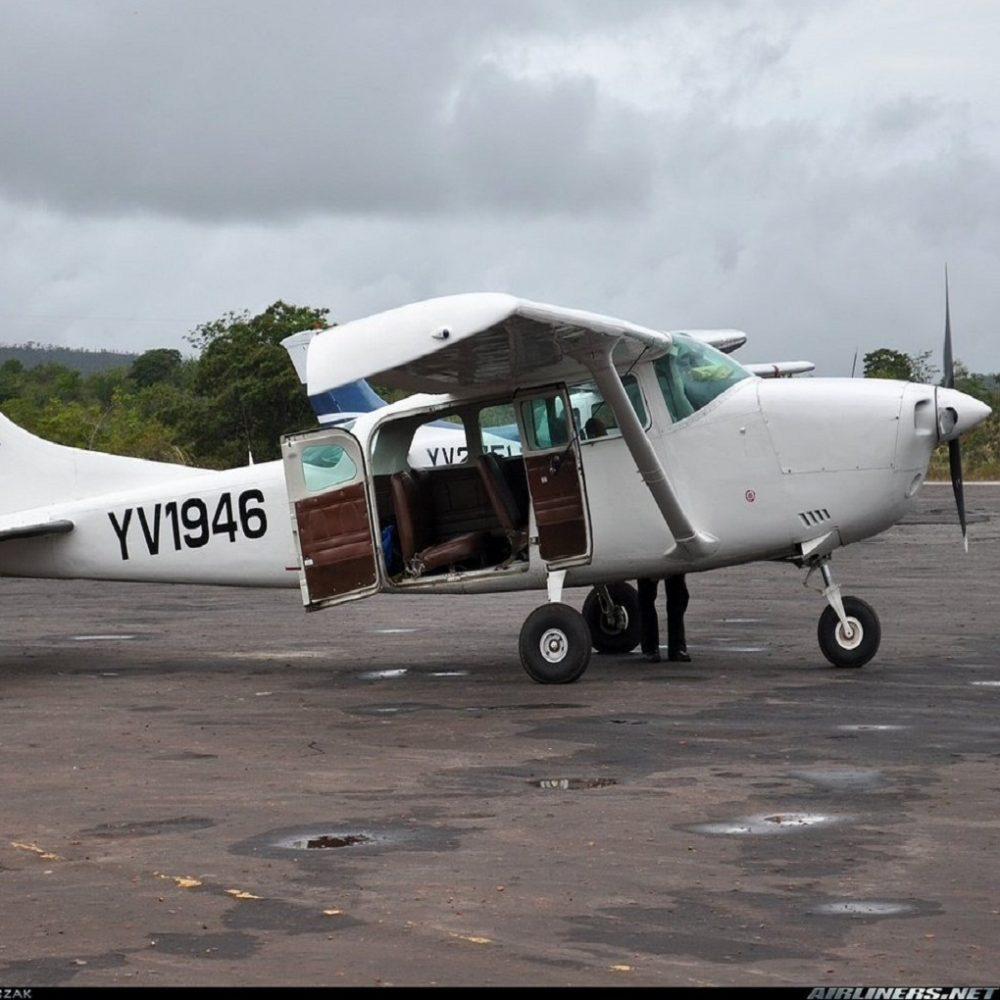 Se precipitó avioneta en Bolívar