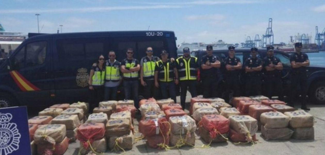 España y la DEA interceptaron barco venezolano con droga