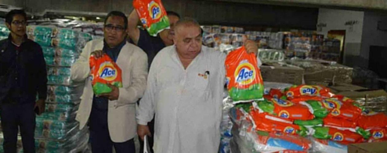 Miles de productos acaparados en Abastos Bicentenario ¡Qué molleja!