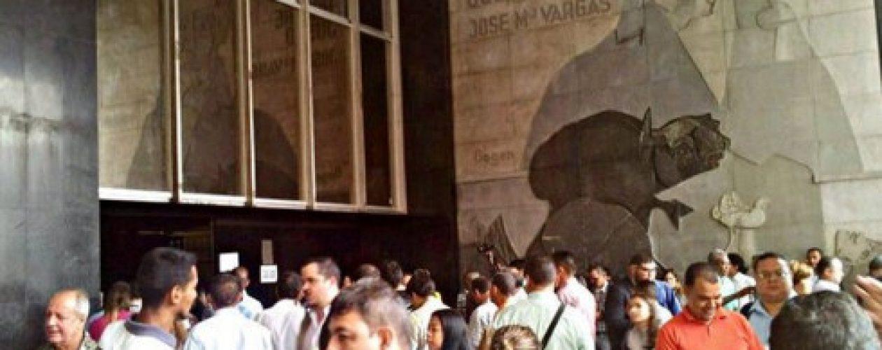 Amenaza de bomba en la sede administrativa de la Asamblea Nacional