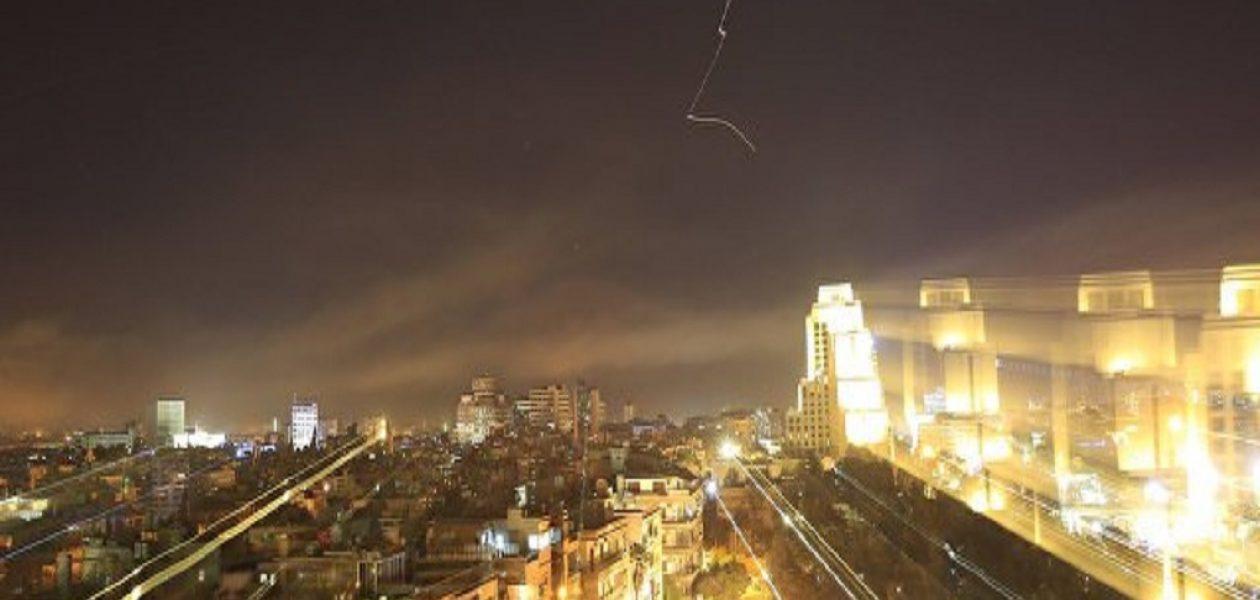 Se escucharon 20 detonaciones durante el bombardeo a Siria