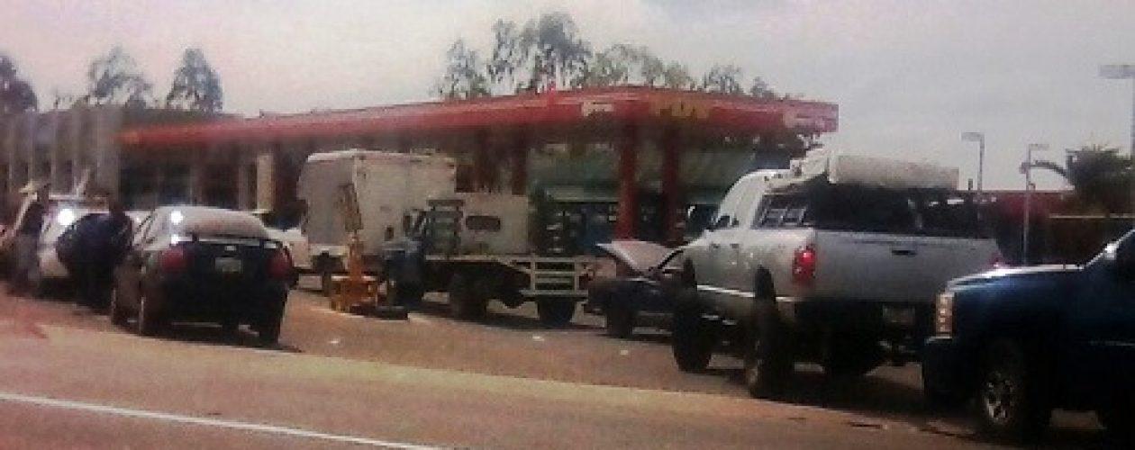 Bombas de gasolina nuevamente sin combustible en Guayana