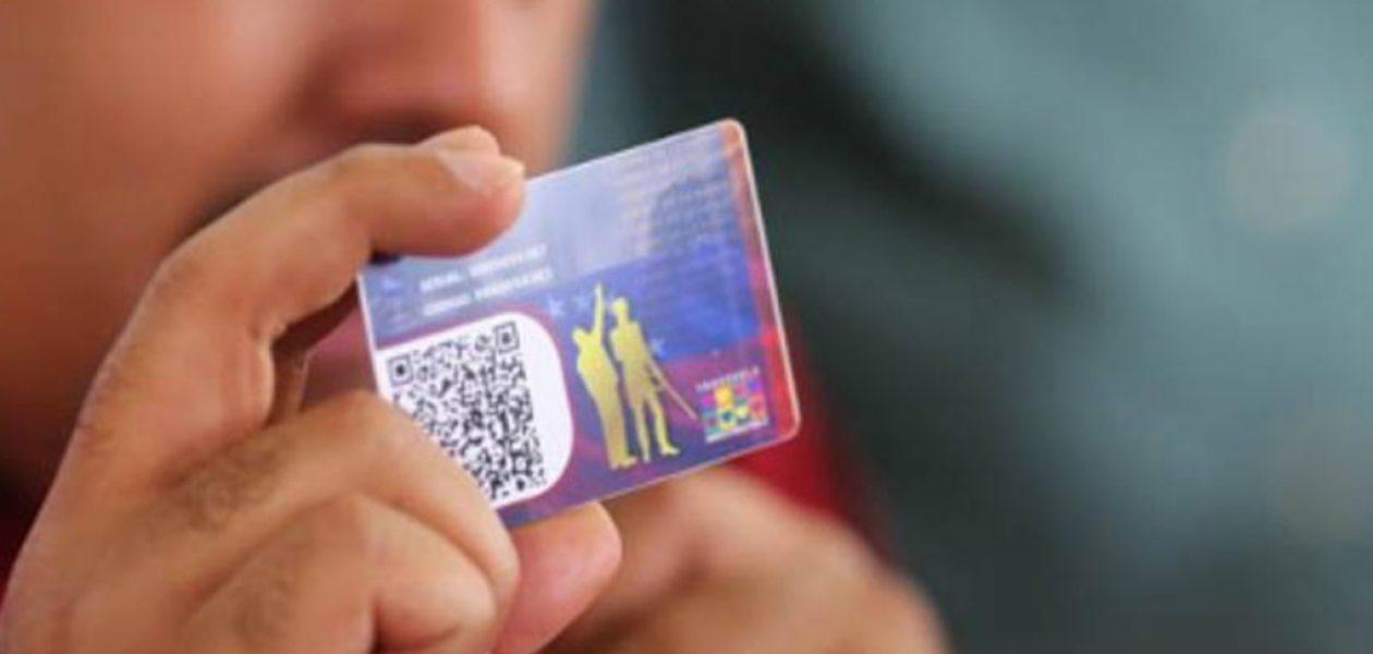 Código QR del carnet de la patria controlará votos en la Constituyente