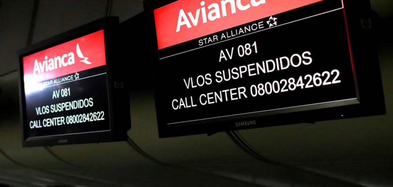 Call center de Avianca activa plan para 13 mil pasajeros afectados