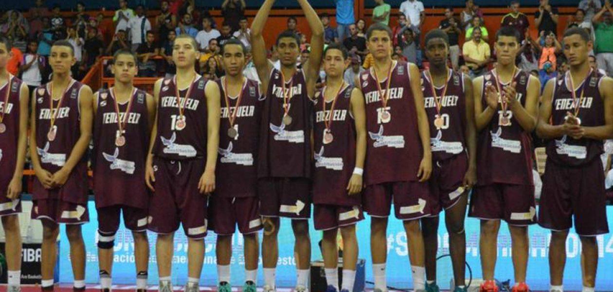 Venezuela se quedó con la plata en Campeonato Suramericano U14 de baloncesto