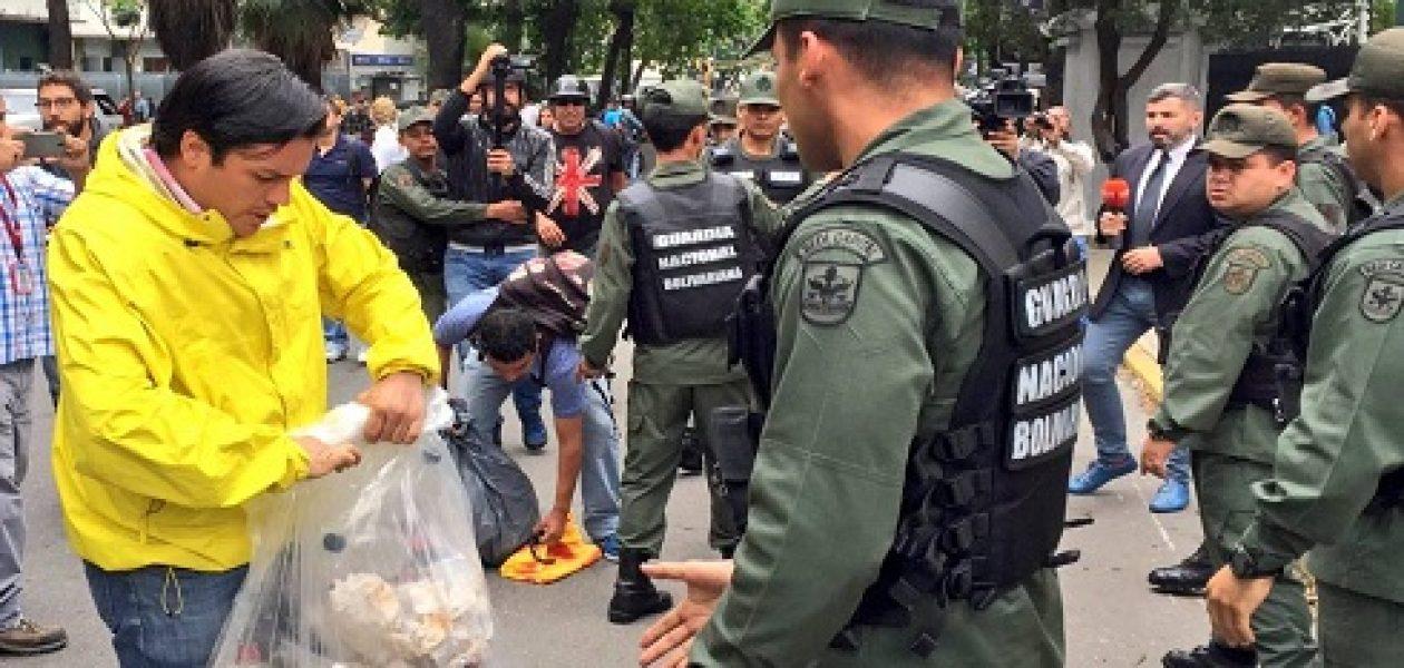 Carlos Paparoni fue agredido por la Guardia Nacional