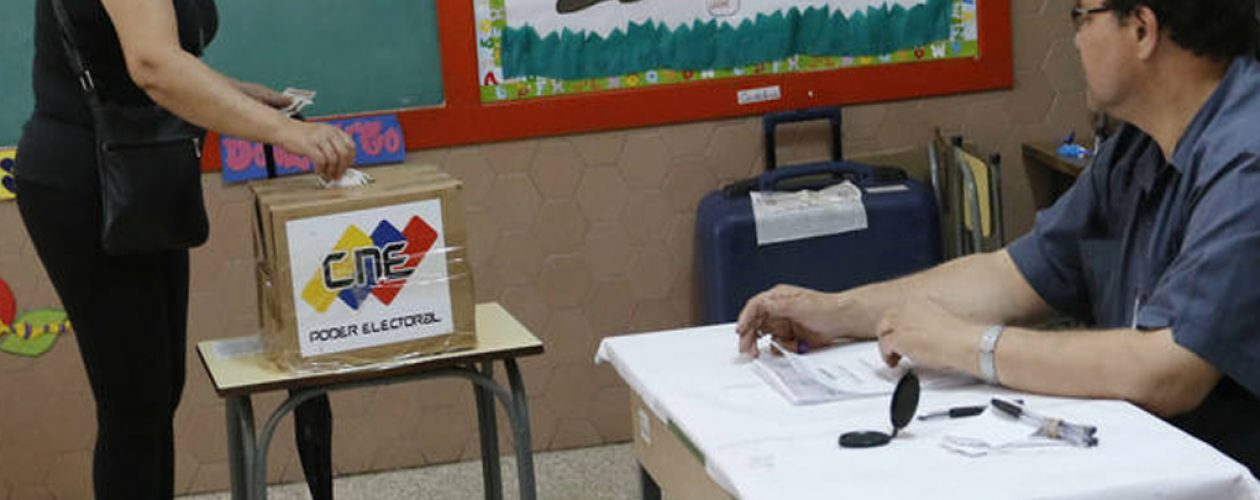 Exigen que centros de votación de municipales sean los mismos de las parlamentarias